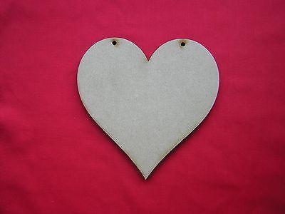 Wooden HEART Shapes MDF Workshop Crafts UK Thousands Sold!