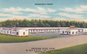 411 Motel Maryville TN Unposted Chrome Postcard Free