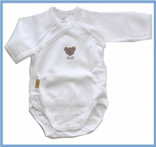 0008503 steiff wickelbody à Langer Body manches longues teddy ours//1000 Blanc