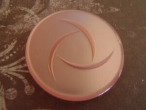 XL-Vintage-Pink-Pearlessent-carved-Button-unused-thick-34mm-sew-jewelry-craft