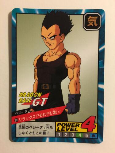 Dragon Ball GT Super Battle Power Level 811