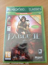 XBOX 360 FABLE II GAME BRAND NEW SEALED MICROSOFT 2