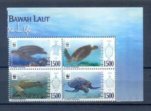 INDONESIA-2010-WWF-TURTLES-MNH