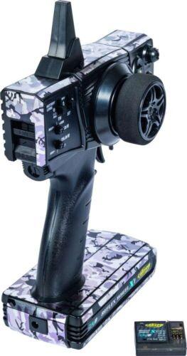 Carson FS Reflex X1 2-Kanal 2.4G Camouflage Pistolenfernsteuerung RC Car