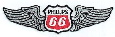 Auto & Motorrad: Teile Obedient 20.3cm Phillips 66 Mit Flügeln Gas Bahnhof Motorenöl Hot Rod Verkauf Dienstzeit Ample Supply And Prompt Delivery