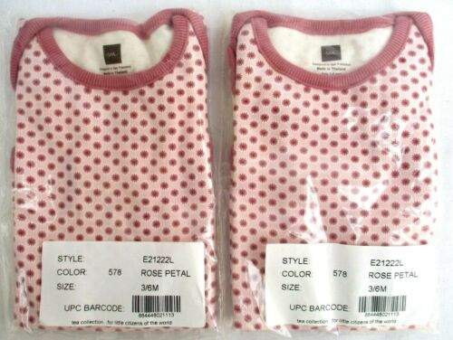 LOT 2..BABY..100/% COTTON..PINK /& RED..POLKA DOT.ONE.PIECE BODY TOP..3-6 MTH.NEW