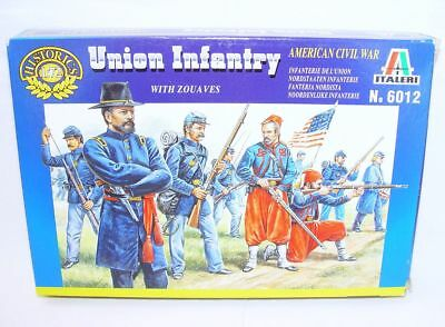 Italeri 1//72 Union Infantry and Zouaves American Civil War # 6012