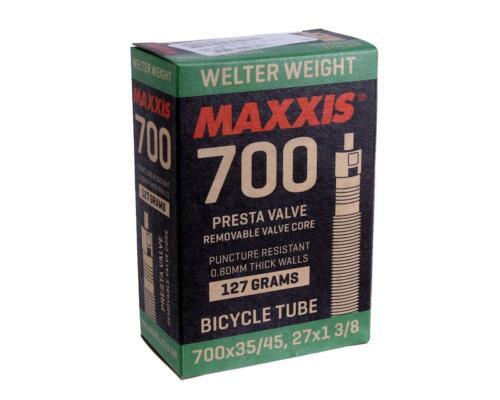 Maxxis Welterweight Tube 700 x 35-45 36mm Valve Length Presta Vavle