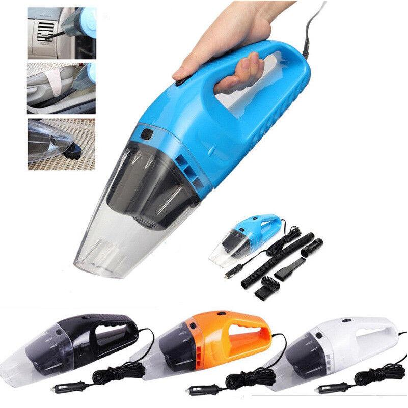 portable 150w 12v handheld cyclonic car vacuum