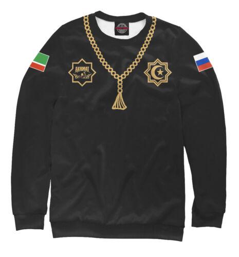 Chechnya WFCA Akhmat fight club Sweatshirt Чечня Chechen Republic flag