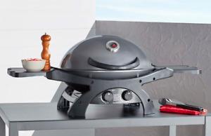 Ziggy by Ziegler & Brown Portable BBQ Twin Grill LPG Model - Gunmetal Grey