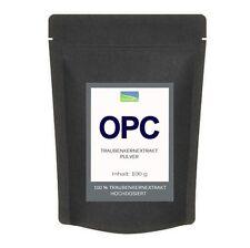 OPC Traubenkernextrakt 95% Pulver Traubenkern Extrakt - 100g mit Zertifikat 1A .