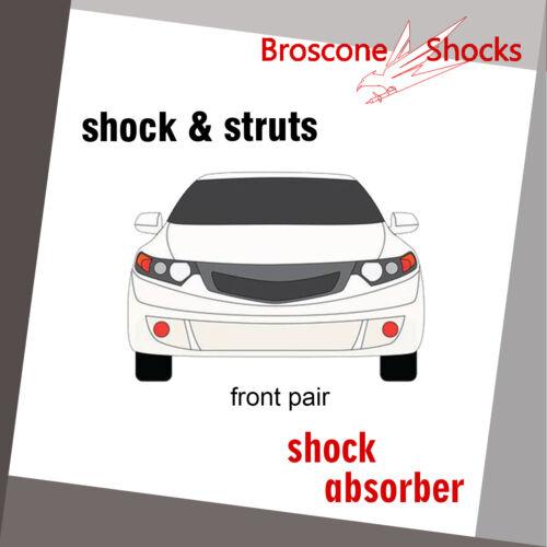 For 2001 2002 2003 2004 2005 2006 Kia Optima Front Pair Shocks//Strut