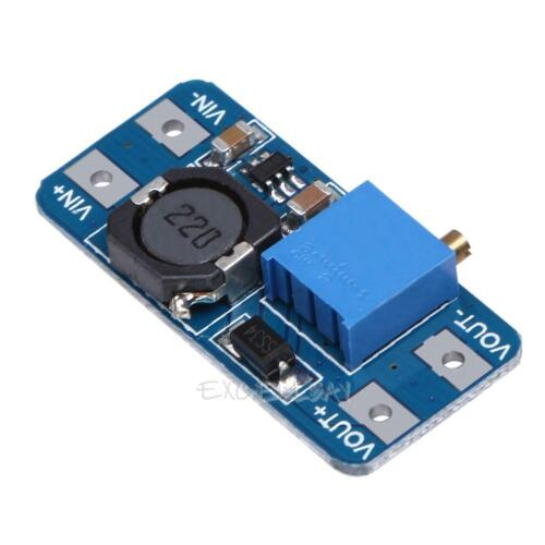 MT3608 DC-DC 2V-24V Step Up Power Apply Module Booster Module 2A for Arduino