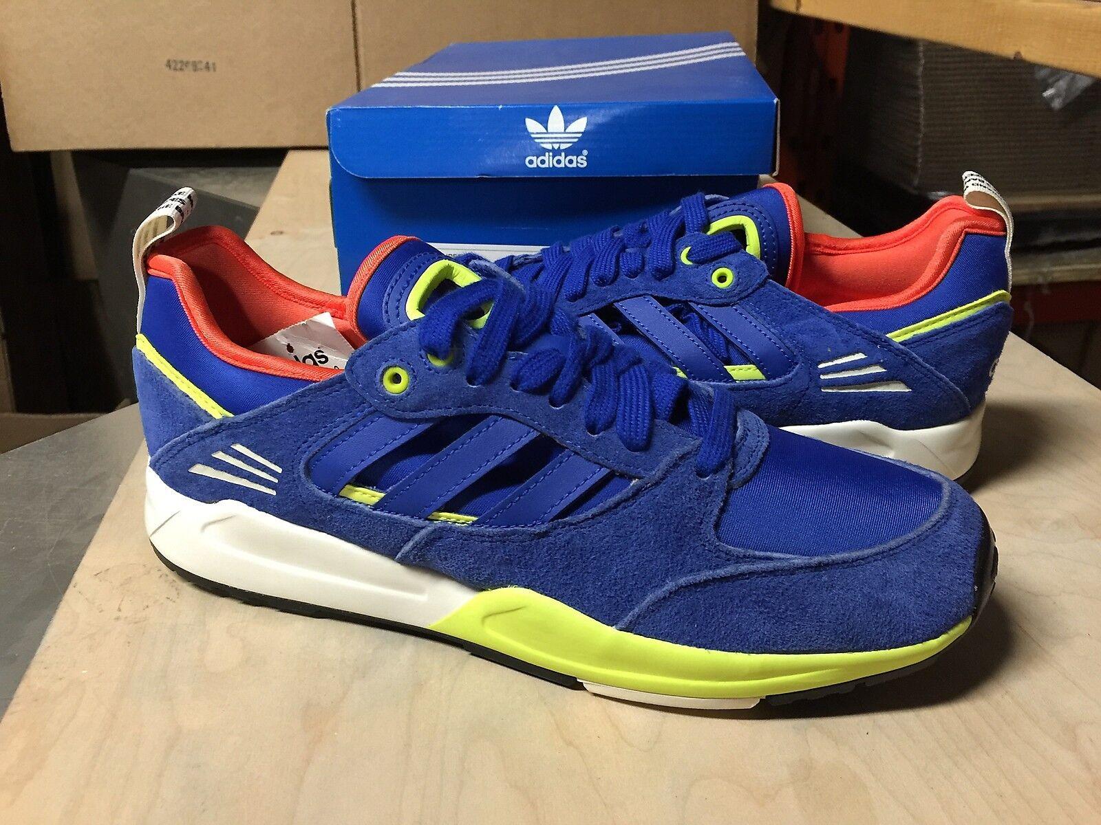 Adidas Originals Tech Super 2.0 Blue Orange Runner zx flux Men D67338