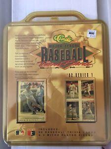 1992 Series 1 Classic Baseball Card Trivia Board Game Factory Sealed