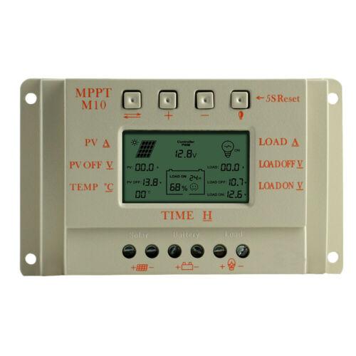 10A 20A 30A 40A 12V-24V MPPT Solar Laderegler Solarregler mit LCD-Anzeige
