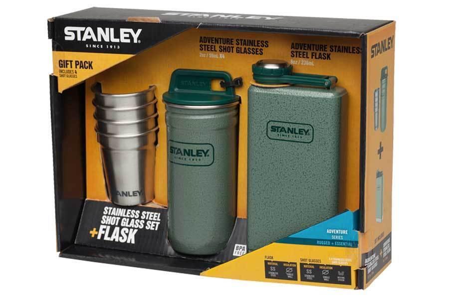 STANLEY STANLEY STANLEY Stanley Adventure, Steel Spririts Taschenflasche, Pintchen-Set -654400 260c0b