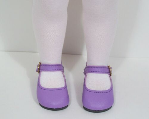 """LAVENDER Basic LL Doll Shoes For 16/"""" Disney Animators Collection Debs"""