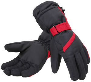 Women Warm Winter Ski Snow Gloves Waterproof Windproof ...