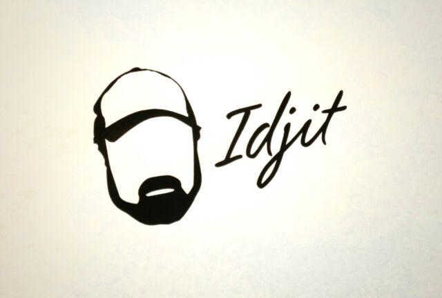 Supernatural Bobby Singer Idjit Vinyl Die Cut Car Laptop Decal Sticker Idjits