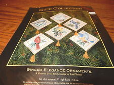 Dimensions Gold Collection Winged Elegance Ornament Counted Cross Stitch Kit