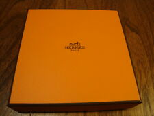 Authentic Hermes Empty Gift Box Nomade Watch/Scarf/Handkerchief 5.25 Sq x 1.125