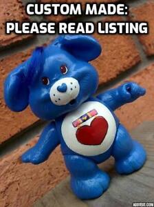 Vintage-Kenner-3-034-Poseable-CARE-BEAR-COUSIN-Figure-CUSTOM-MADE-Loyal-Heart-Dog