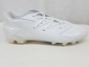 fbcacf4648c8 Details about Adidas Freak X Carbon Low Football Cleats Size Men 16 White  114196342 BRAND NEW