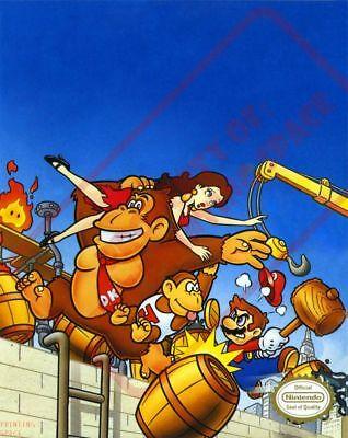 Donkey Kong Classics Framed Poster 12x18