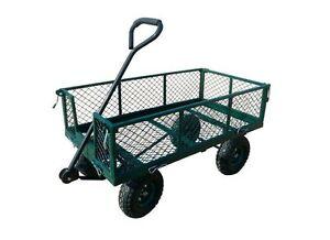 Image Is Loading 400 Lb Capacity Heavy Duty Garden Wagon Utility
