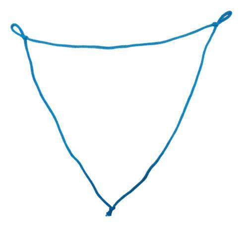 Multi-Loop Pulver Riesenseifenblasen Schnur Schlaufe Kordel Stäbe Ring Loop
