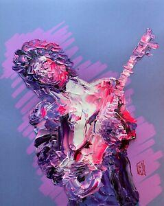 PRINT-Prince-Purple-Rain-Era-Abstract-Palette-Knife-Music-Art-Painting-11x14-034