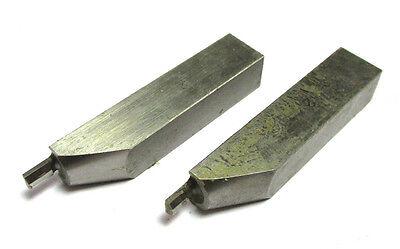 1 Paar Messschnäbel 10 X 9 Mm L= 50mm Ansatzradius 2 Mm H14019