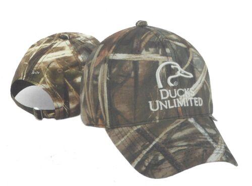 DUCKS UNLIMITED Advantage Max4HD Hunting Hat-white logo