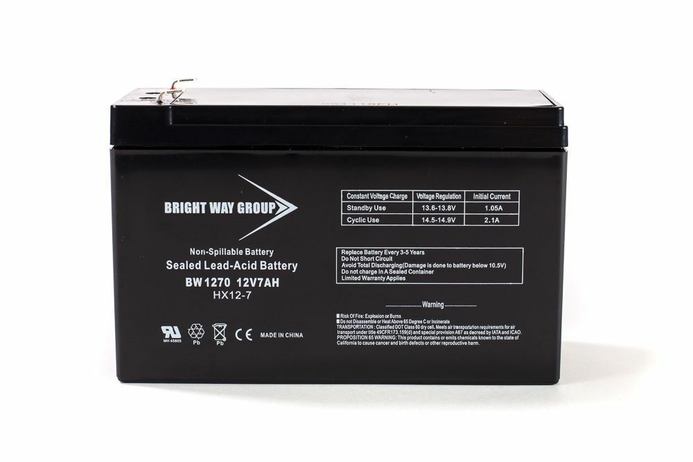This is an AJC Brand Replacement Liebert Powersure PS2200RT2-120W 12V 7Ah UPS Battery