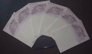 New-Lot-of-12-Ballet-Notepads-5-5-034-x-8-5-034-ballerinagirls-Y-Pilyars-50-sheets-ea