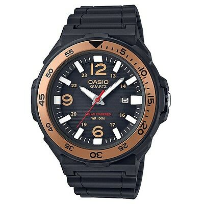 Casio MRW-S310H-9BVEF Mens Collection Solar Powered Black Resin Strap Watch £50