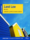 Land Law Directions by Sandra Clarke, Sarah Greer (Paperback, 2016)