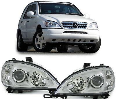 Phares H7 H7 Facelift Optique pour Mercedes ML W163 98-01