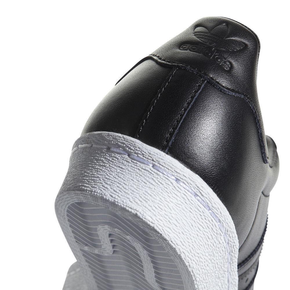 Adidas Superstar Originals Superstar Adidas de los Años 80 Metálico Zapatillas Mujer Negro Metal f49889