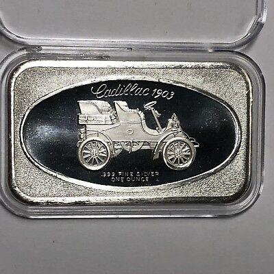 German Shepherd Dog Collectible Bar 1 Troy Oz .999 Fine Silver Rare Ingot Medal