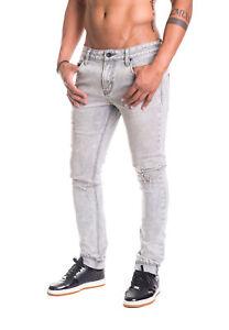 R1608j400 Slim Uomo Jeans Lavare Grigio Rocawear 888 Fit Wa68qZ