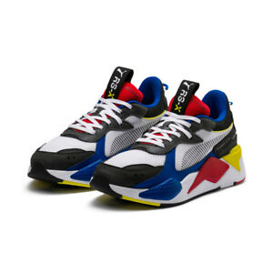 3da057e703 New PUMA RS-X Toys Sneakers Shoes- White Royal Red(369449-02 ...