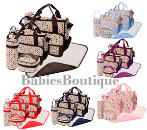 5eff1b2b9be1 Image is loading 5pcs-Polka-Dots-Baby-Nappy-Changing-Hospital-Diaper-