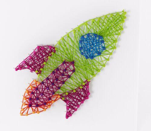 String ART facile à faire Enfants Craft Kit Smart FOX junior cadeau de Noël