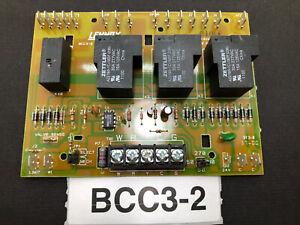 FREE shipping LENNOX BCC3-2 REV A LB-90676 65k29 Furnace Control Board used