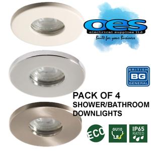 BG 4 PACK BATHROOM SHOWER LED DOWNLIGHTS HALOGEN IP65 ...