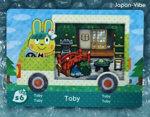 Animal Crossing Welcome Amiibo English S6 Toby Card Sanrio 100 Legit Mint Ebay