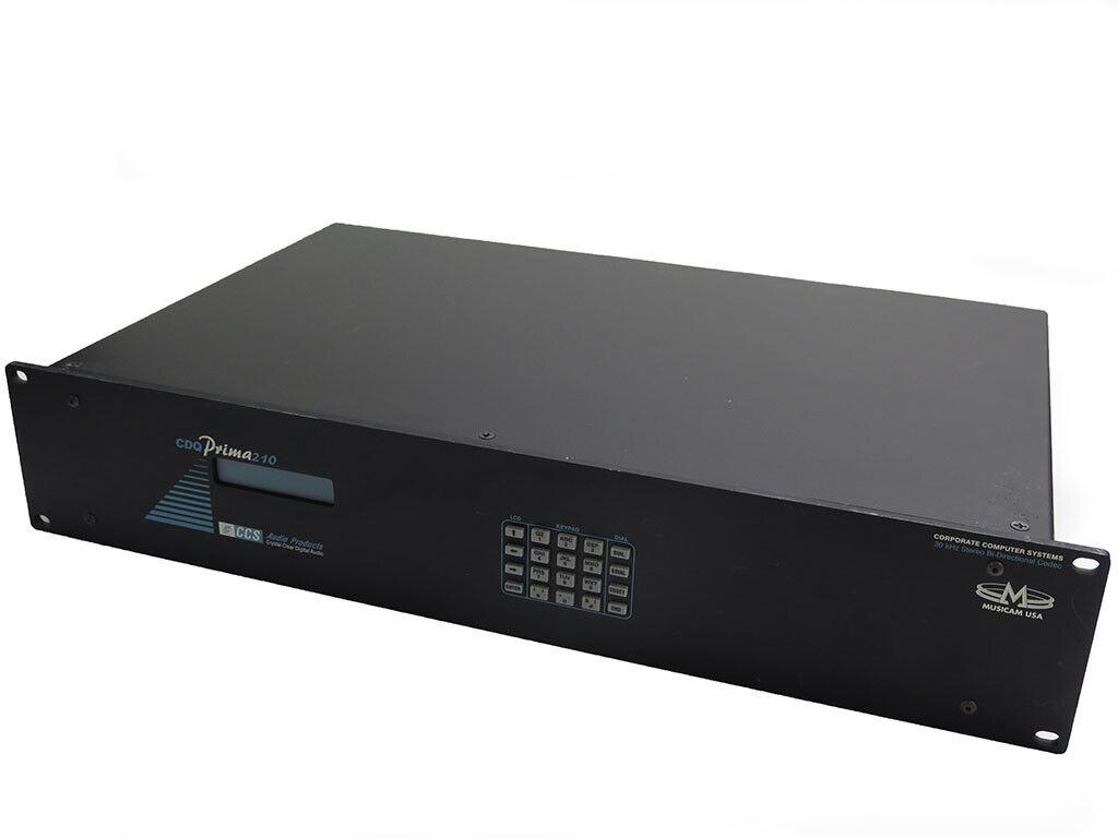 Musicam CDQ Prima 210 ISDN 20Khz stereo bi-directional digital audio codec box